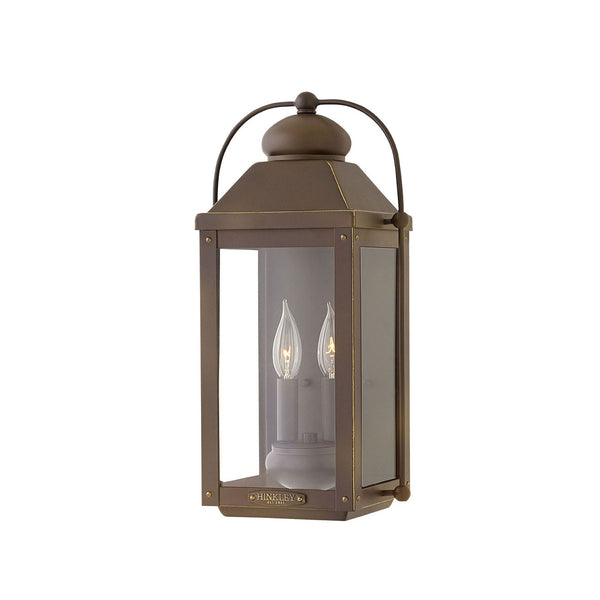 Lincoln Wall Lantern In Oiled Bronze