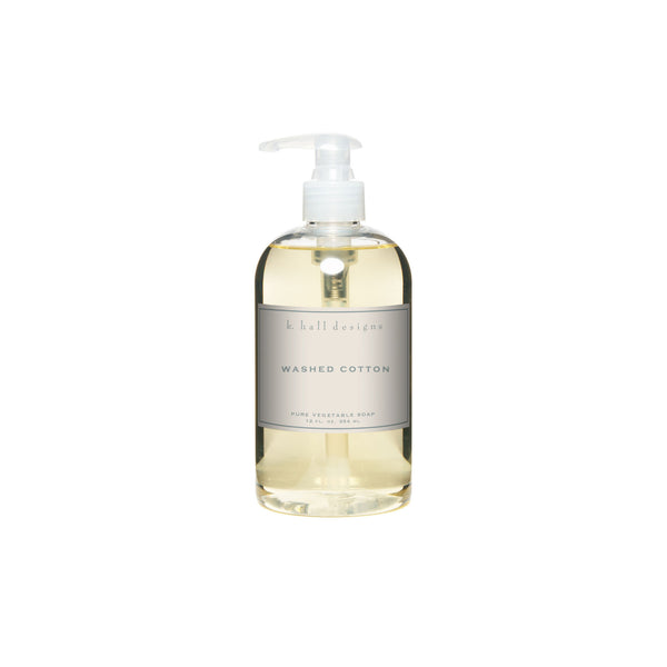 Liquid Hand Soap - Washed Cotton