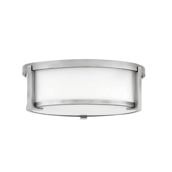 Lowry Flush Mount in Brushed Nickel - Medium