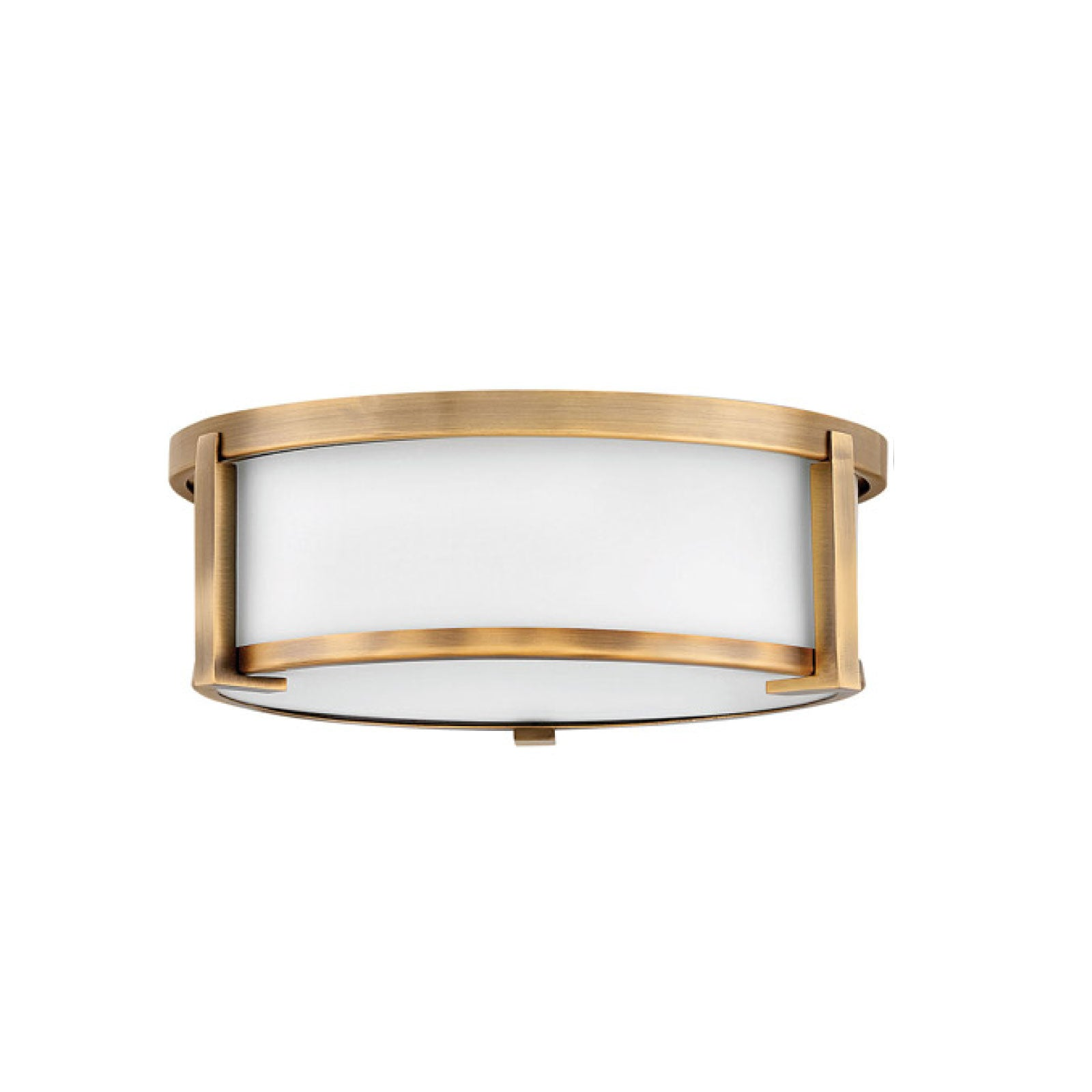 Lowry Flush Mount in Brushed Bronze - Medium