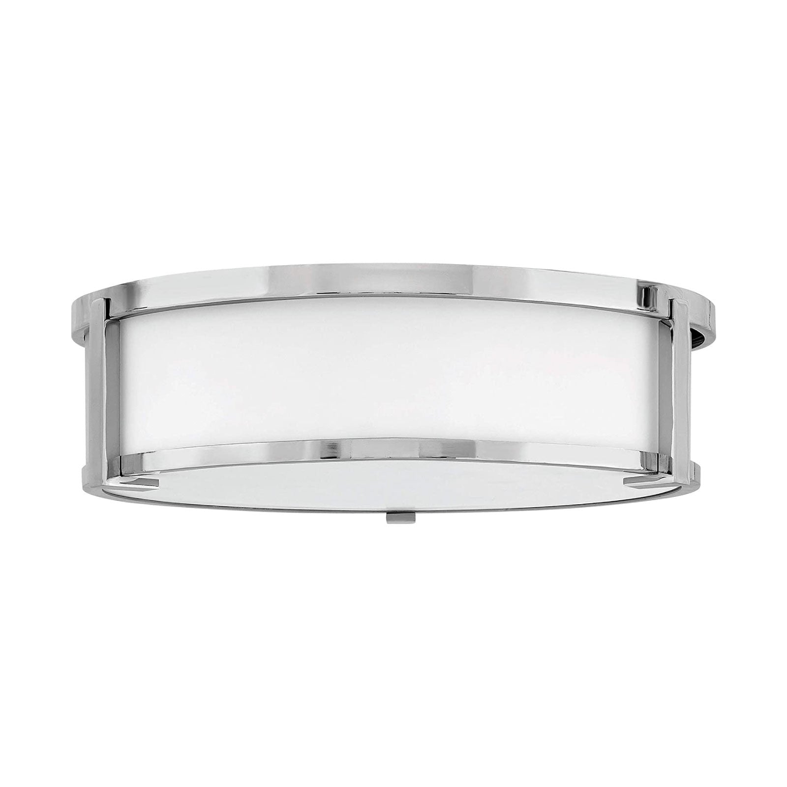 Lowry Flush Mount in Chrome - Large