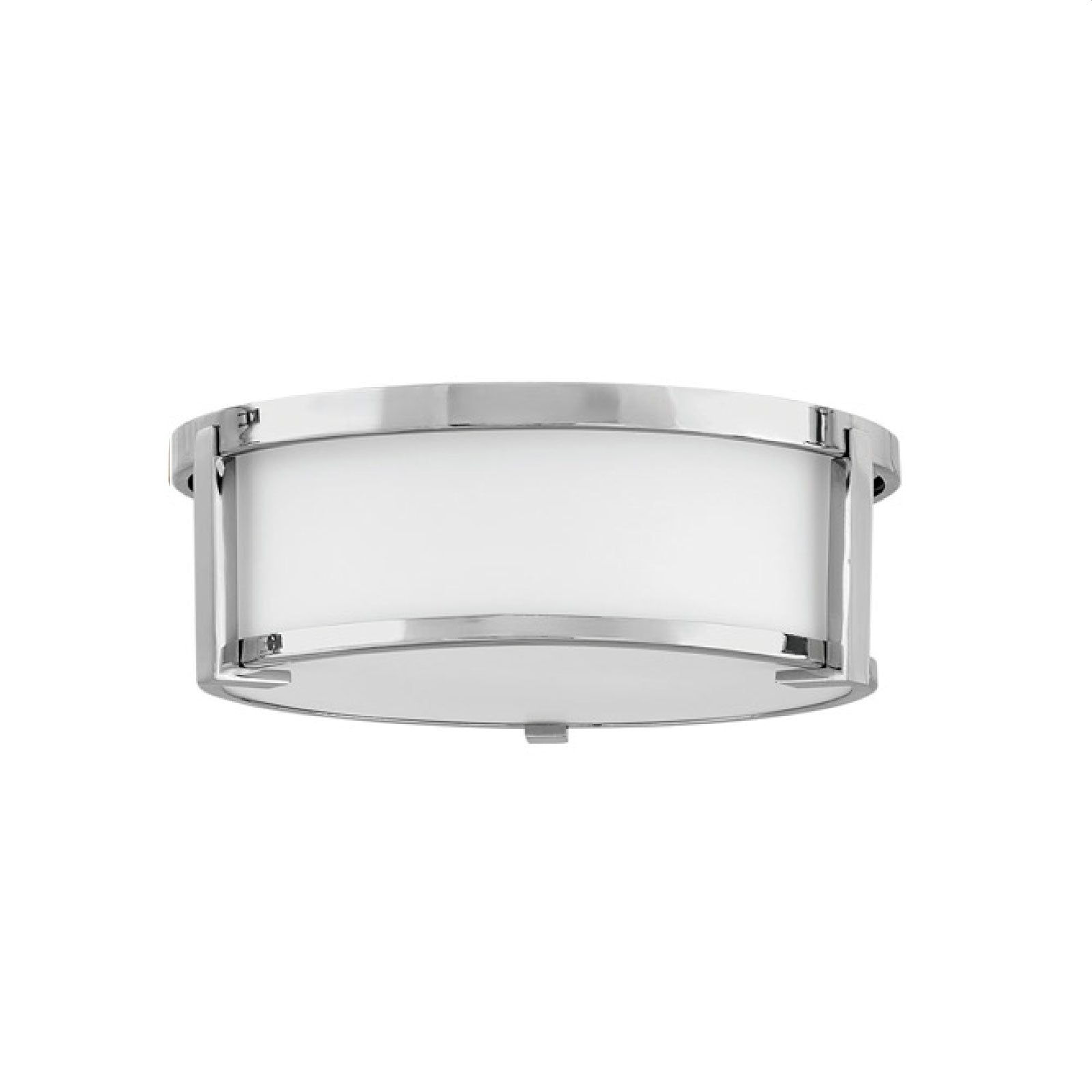 Lowry Flush Mount in Chrome - Medium