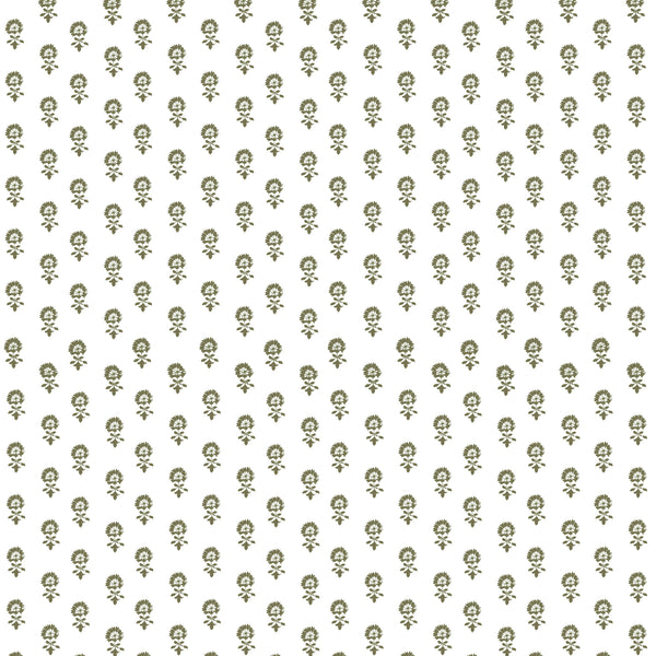 Lyla Fabric in Olive
