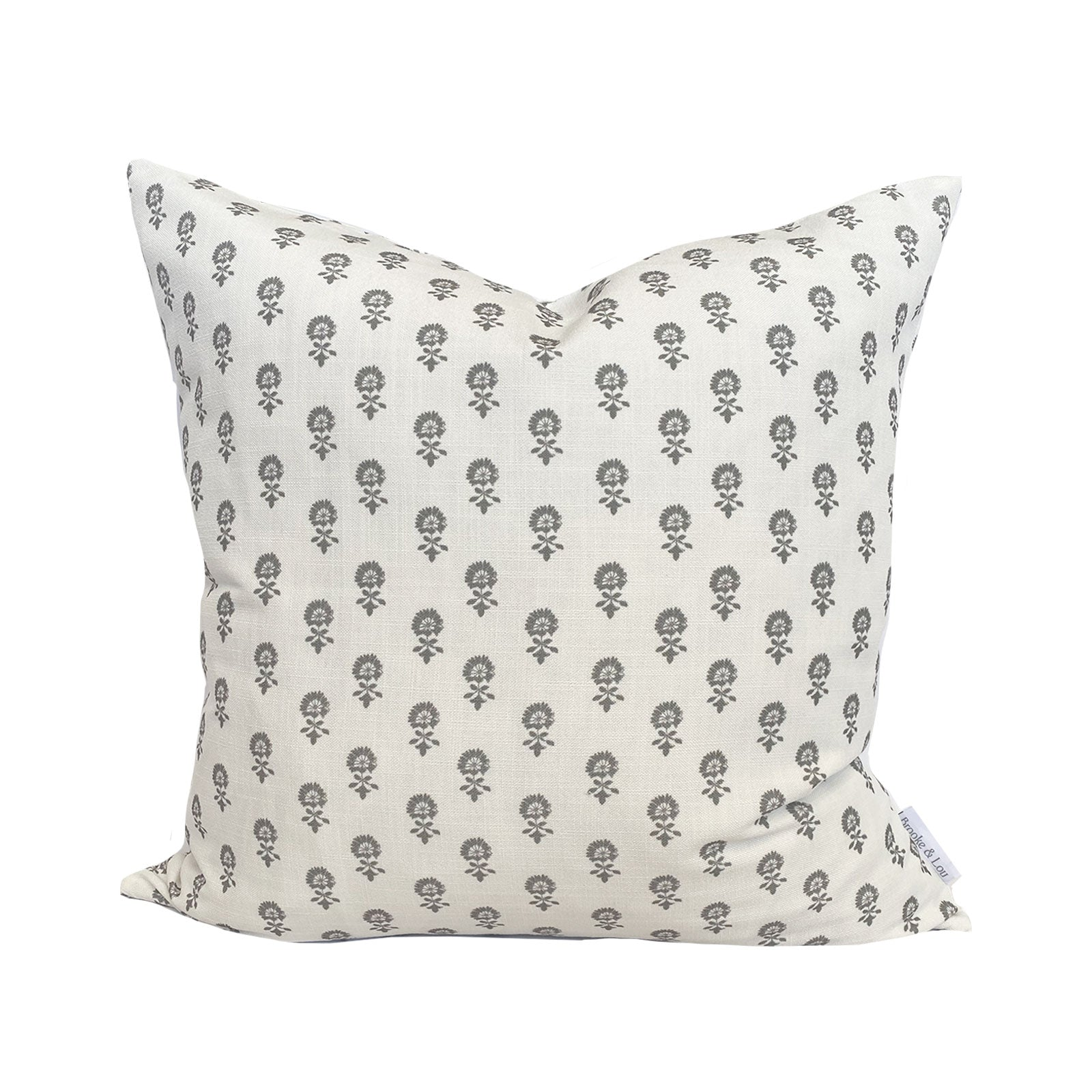 Lyla Pillow in Charcoal