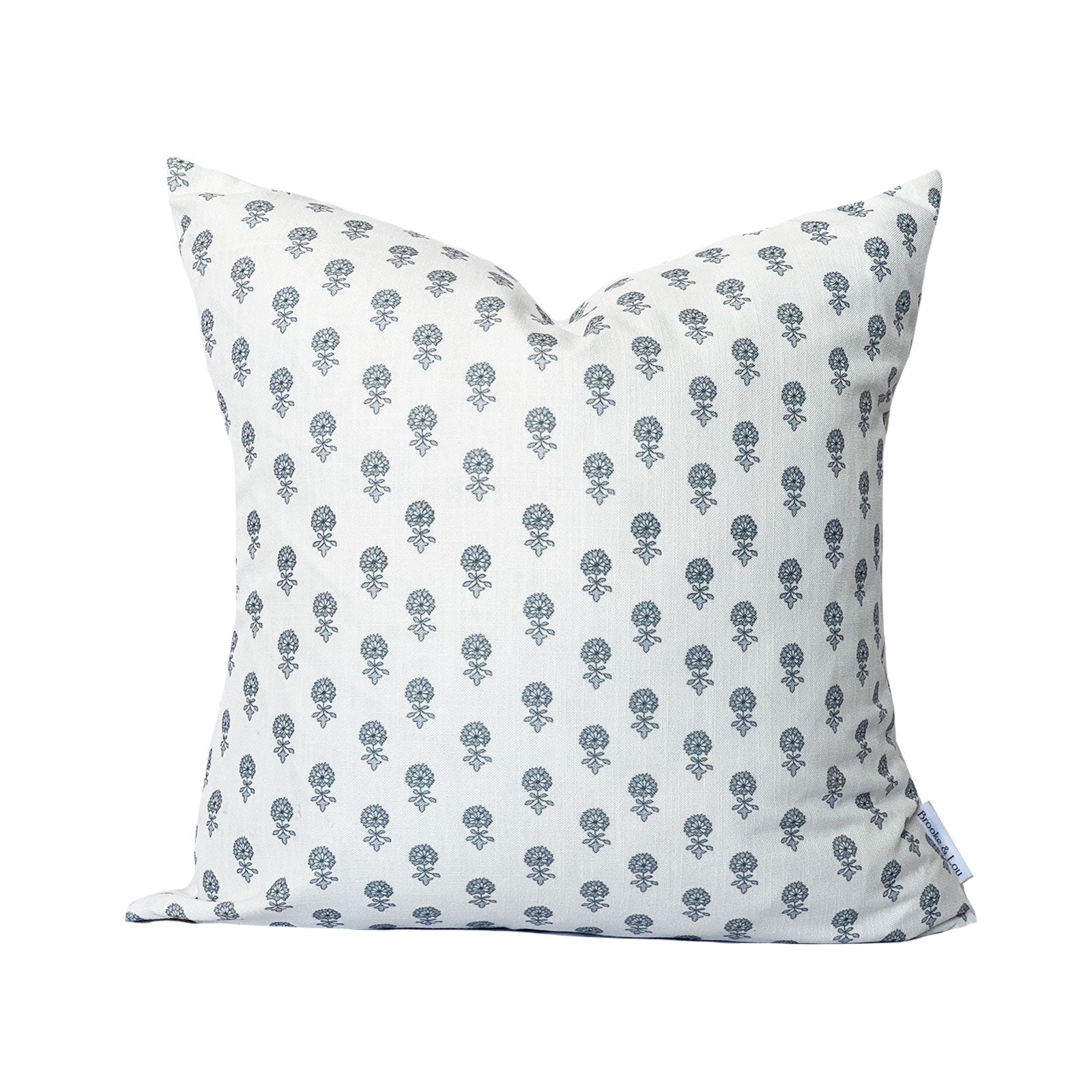 Lyla Pillow in Light Blue