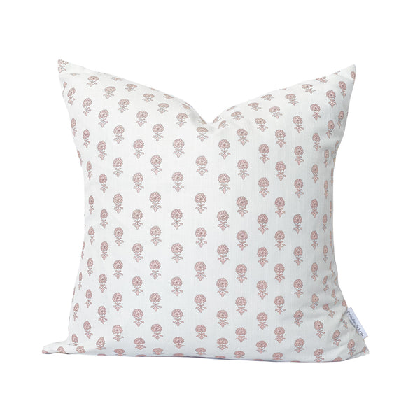 Lyla Pillow in Soft Coral