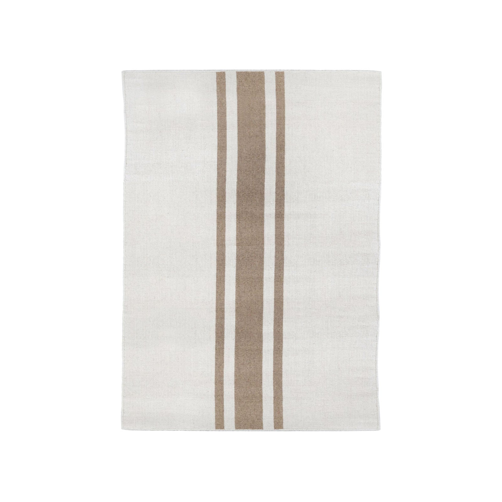 Maggie Rug in Ivory and Camel