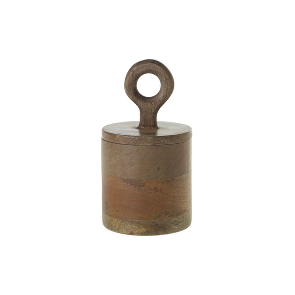 Mango Wood Canister - Small