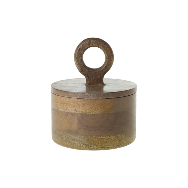 Mango Wood Canister - Medium