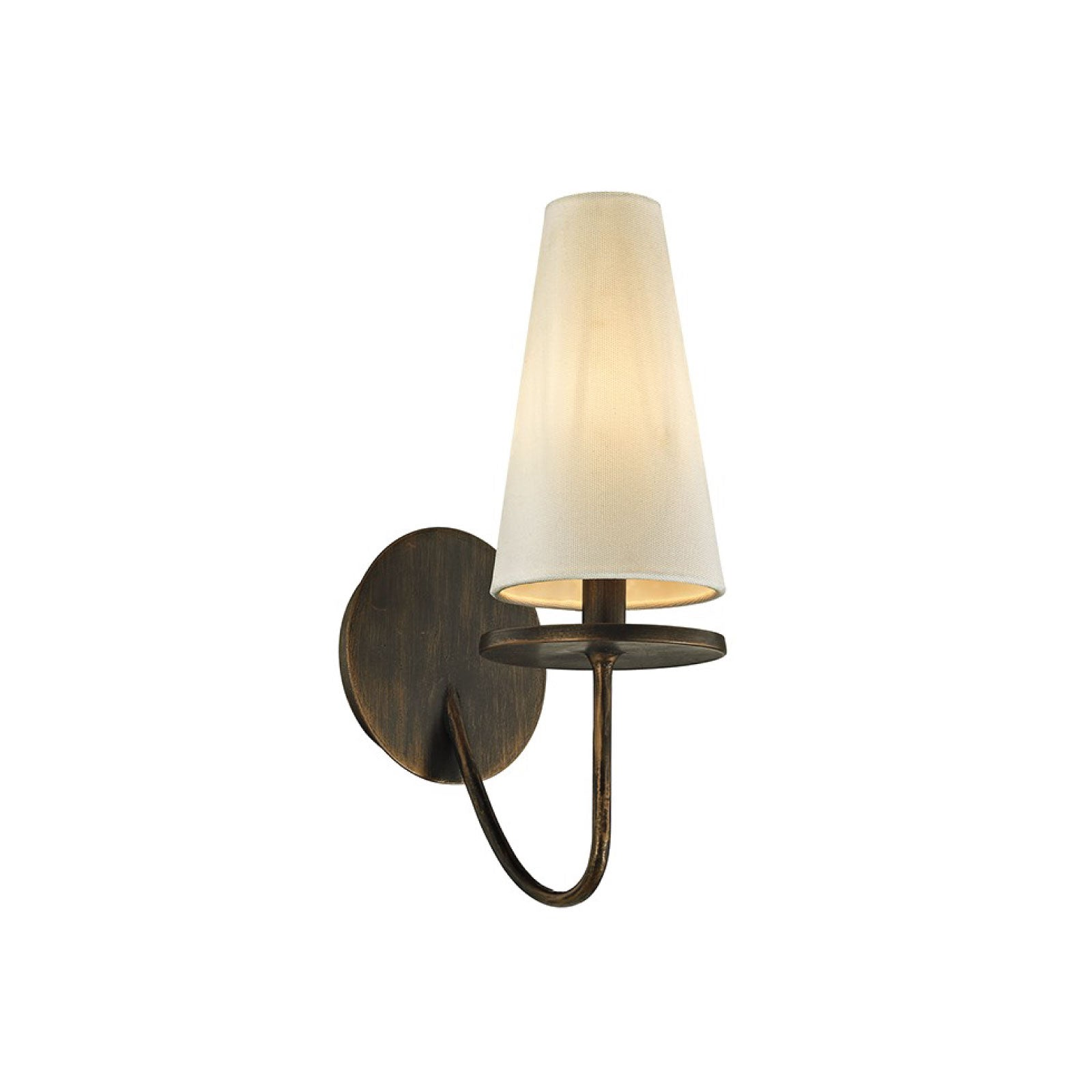 Rosecliff Sconce in Bronze