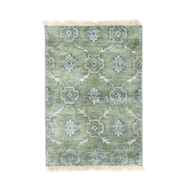 Maribelle Rug in Soft Jade Green