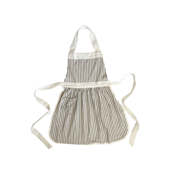 Ticking Stripe Children's Apron
