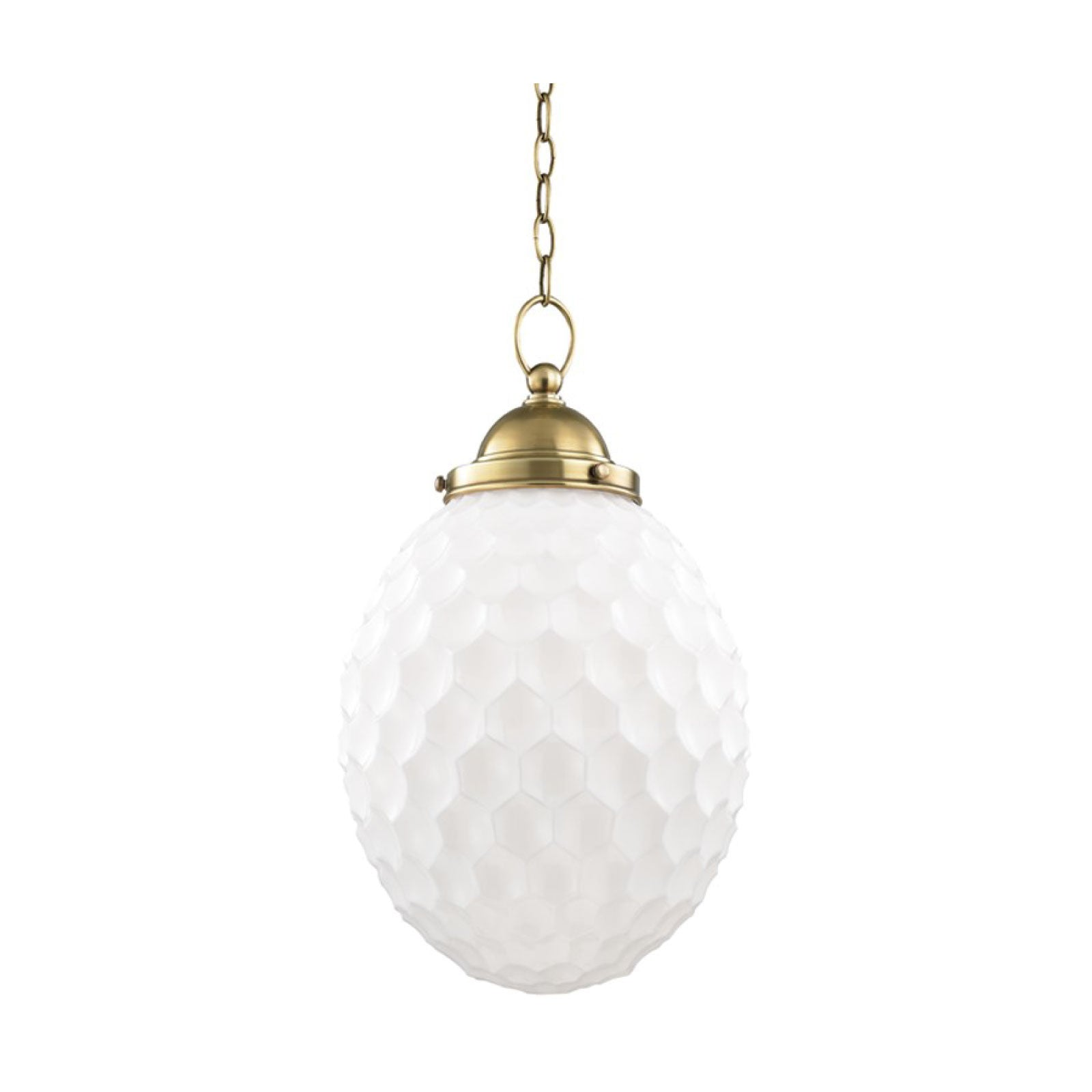 Montpellier Pendant in Brass