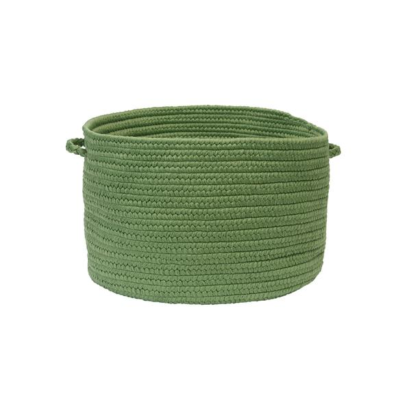 Sonny Solid Basket in Moss Green