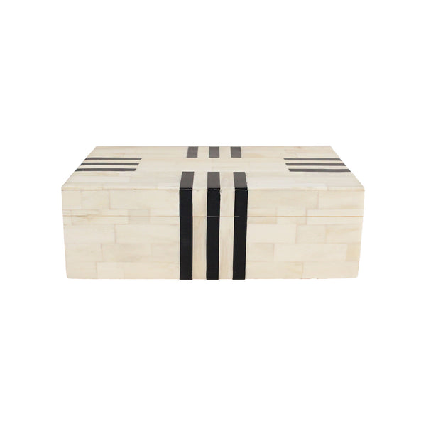 Multi-Stripe Bone Box