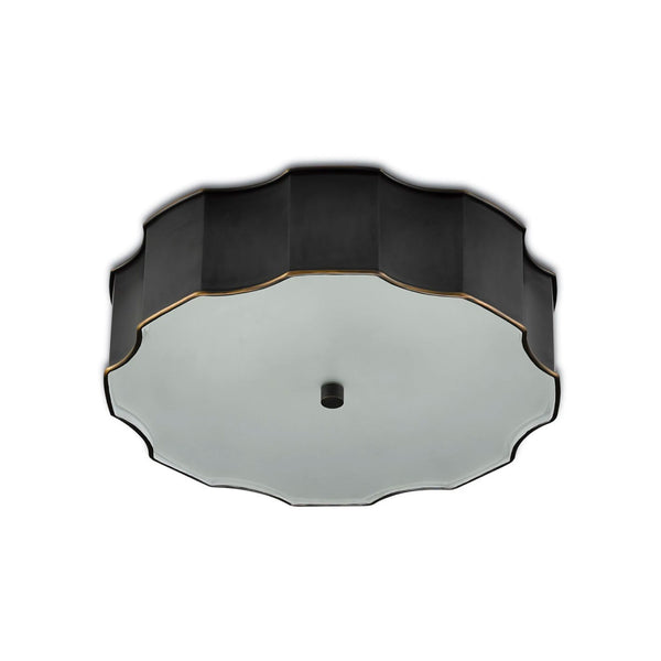 Nasseff Flush Mount in Bronze