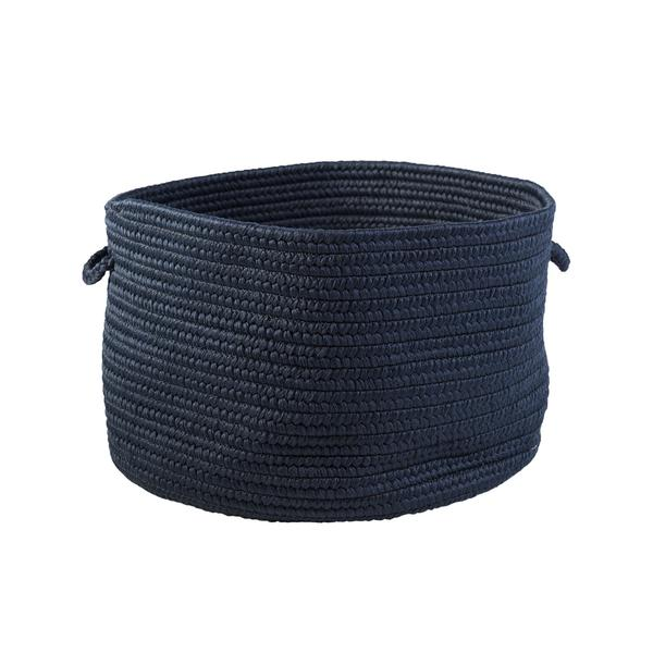 Sonny Solid Basket in Navy Blue