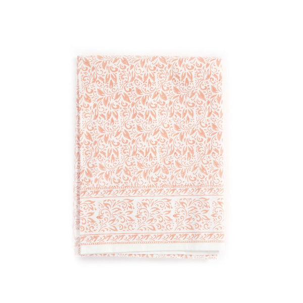 Nira Tablecloth in Coral