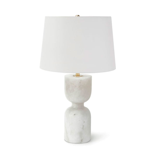 Noel Table Lamp in Alabaster