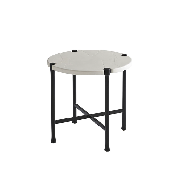 Pavlova Round End Table