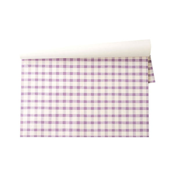 Picnic Check Paper Placemats - 24 Sheets