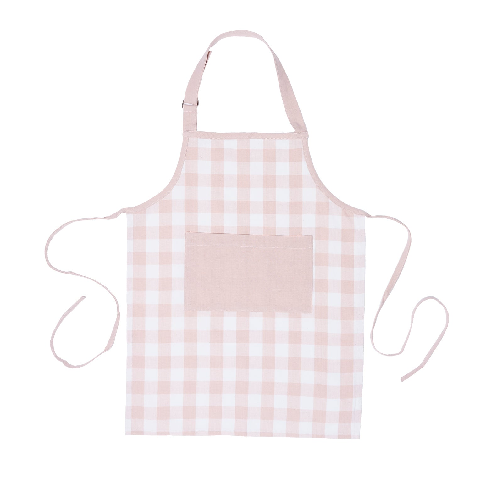 Pink Gingham Mommy and Me Apron