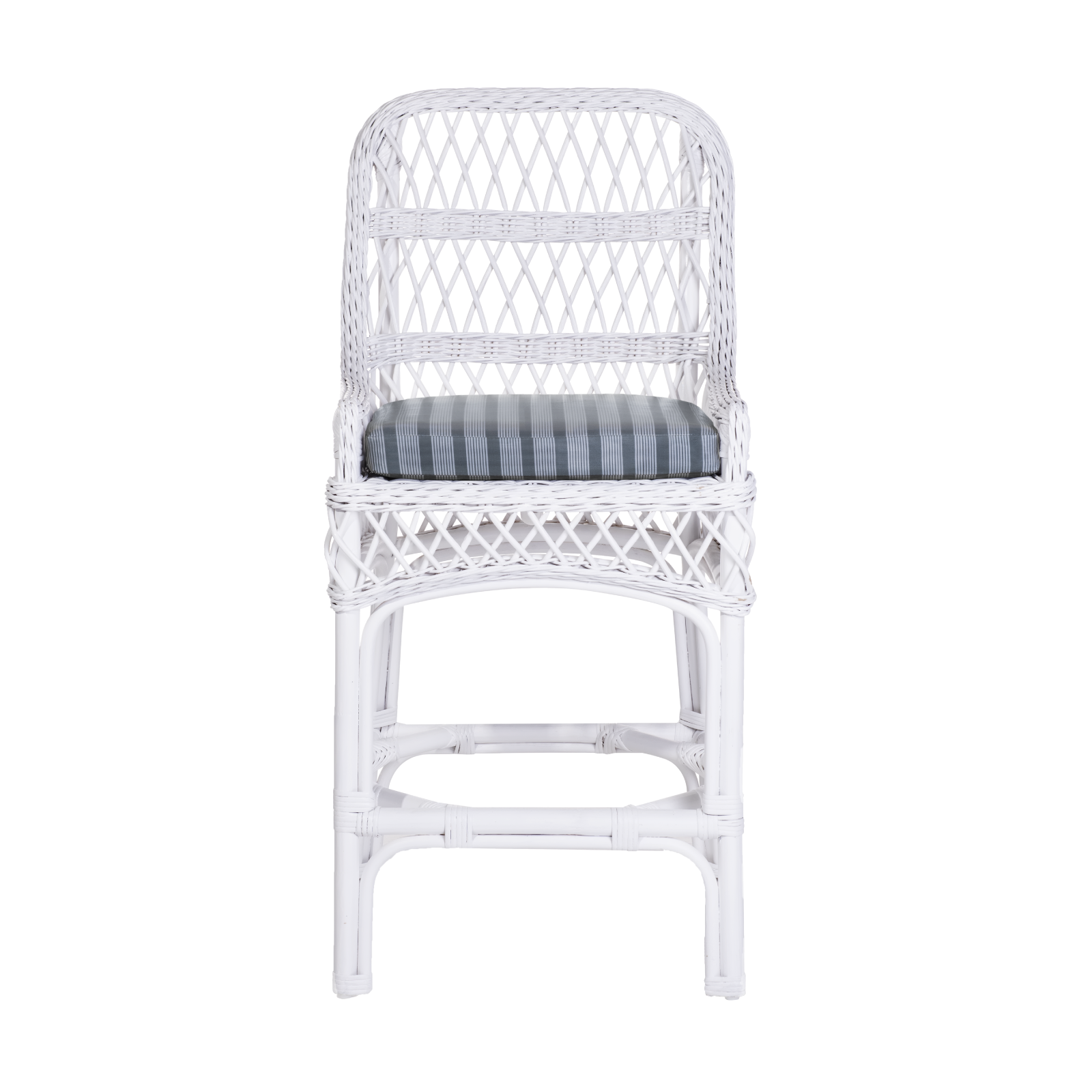 Rose Counter Stool in Satin White