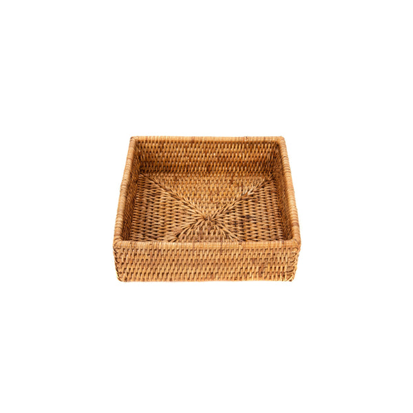 Rattan Square Napkin Holder