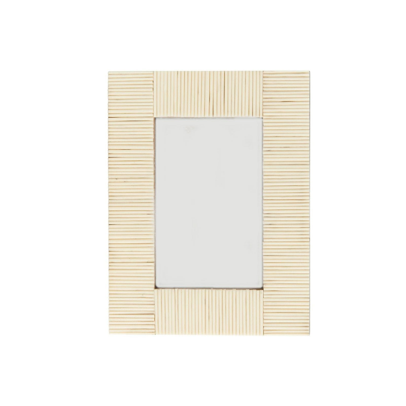 Reeded Bone Frame