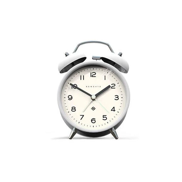 Rise and Shine Alarm Clock in White