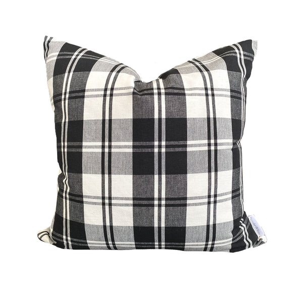 Rory Pillow in Black Check