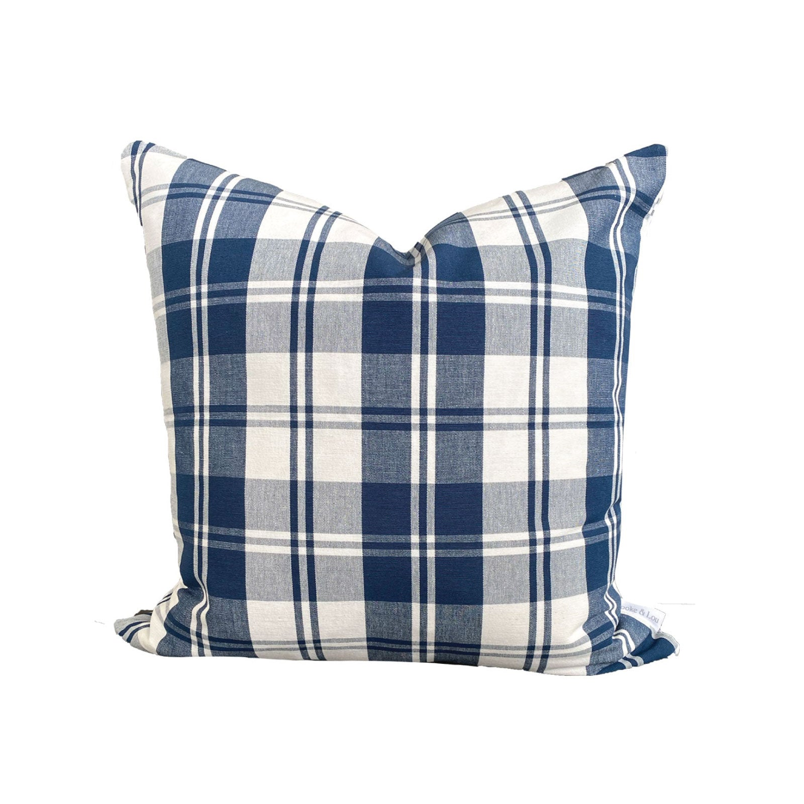 Rory Pillow in Navy Check