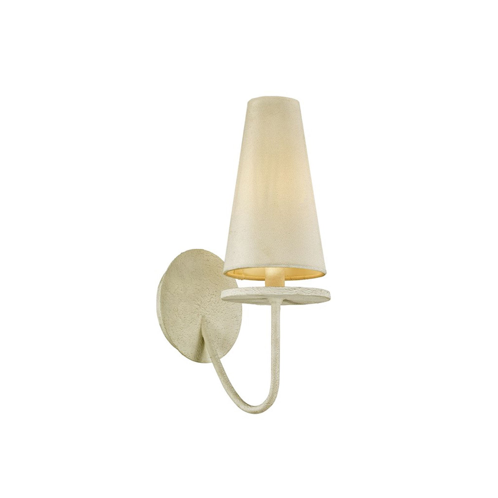 Rosecliff Sconce in Cream