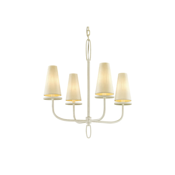 Rosecliff Chandelier in Cream - Small