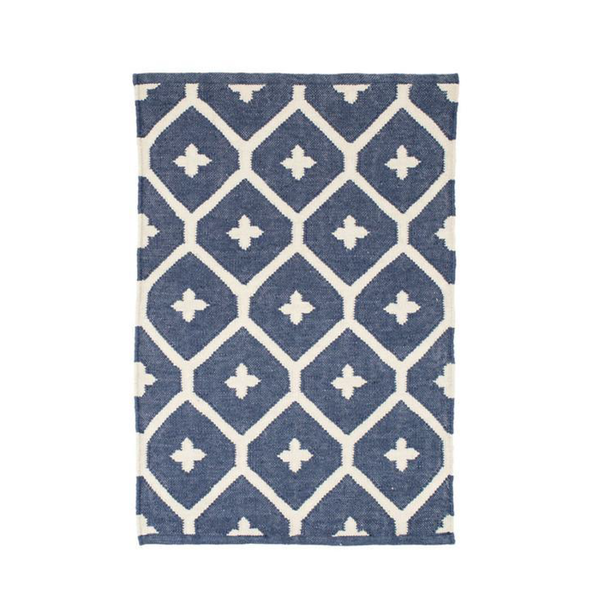 Rosemary Indoor/Outdoor Rug in Navy