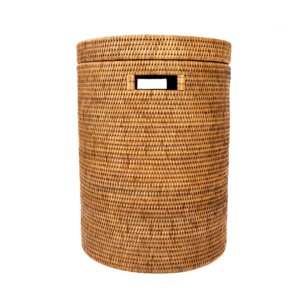 Round Hamper in Honey