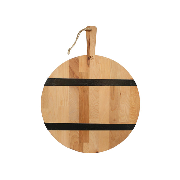 Round Two Toned Chopping Board