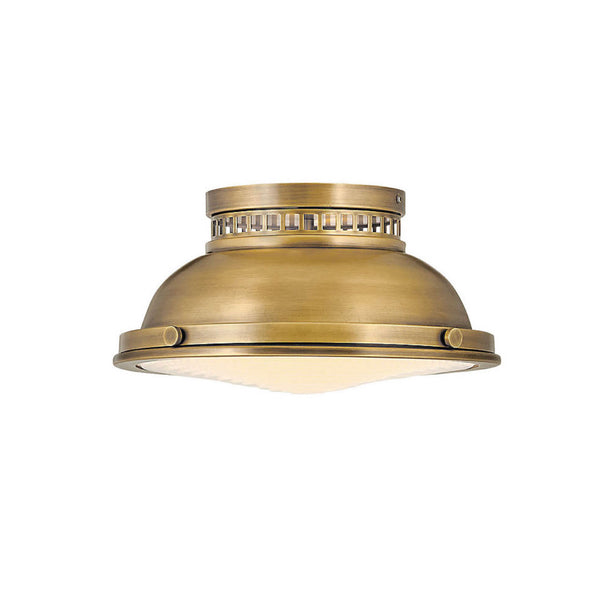 Rowan Flush Mount in Brass