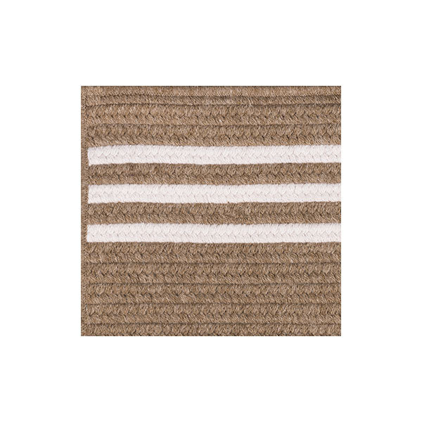 Rugby Stripe Rug Sample