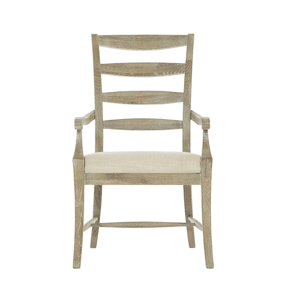 Ladder Back Arm Chair in Natural Oak