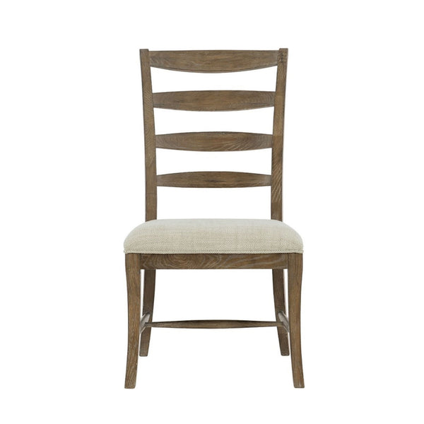 Ladder Back Dining Chair in Medium Oak