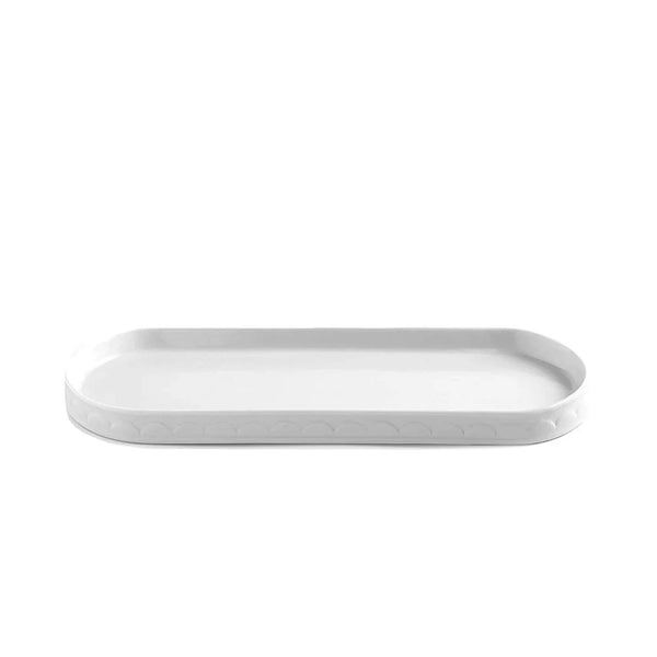 Scalloped Bathroom Tray