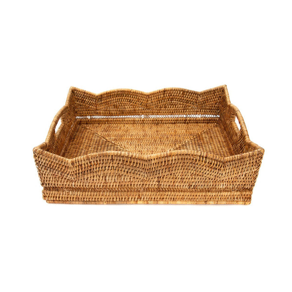 Scalloped Gathering Tray