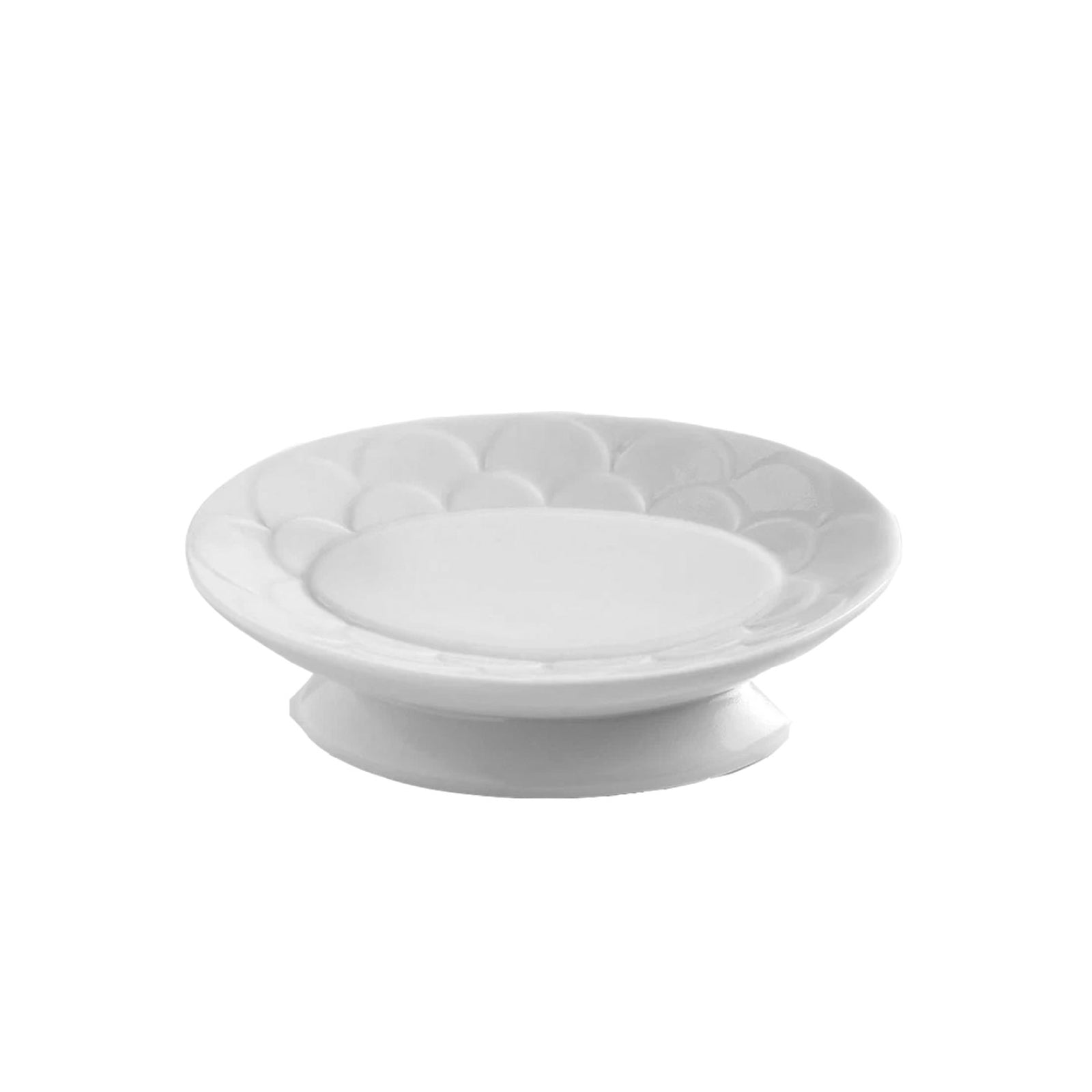 Scalloped Soap Dish