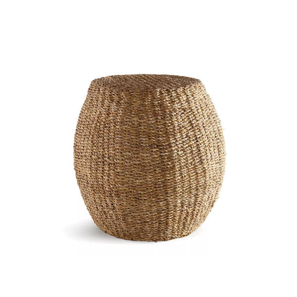 Seagrass Garden Stool