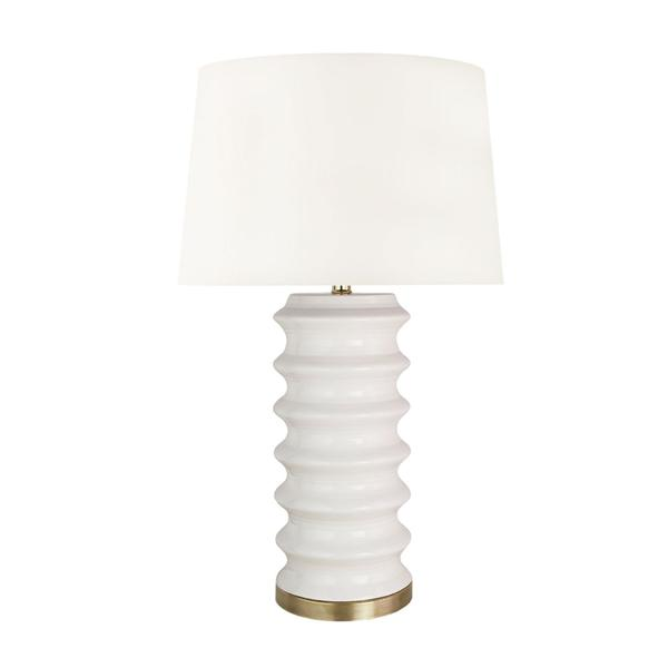 Sedona Table Lamp in White