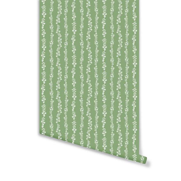 Somerset Wallpaper in Sage