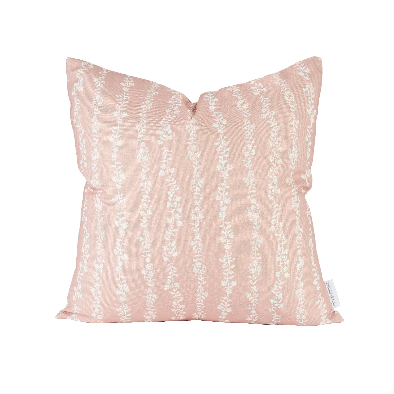 Somerset Pillow in Soft Coral