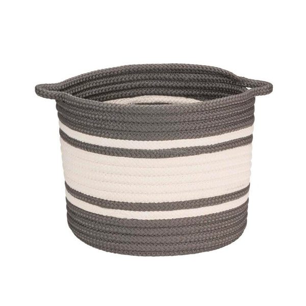 Striped Beach Basket
