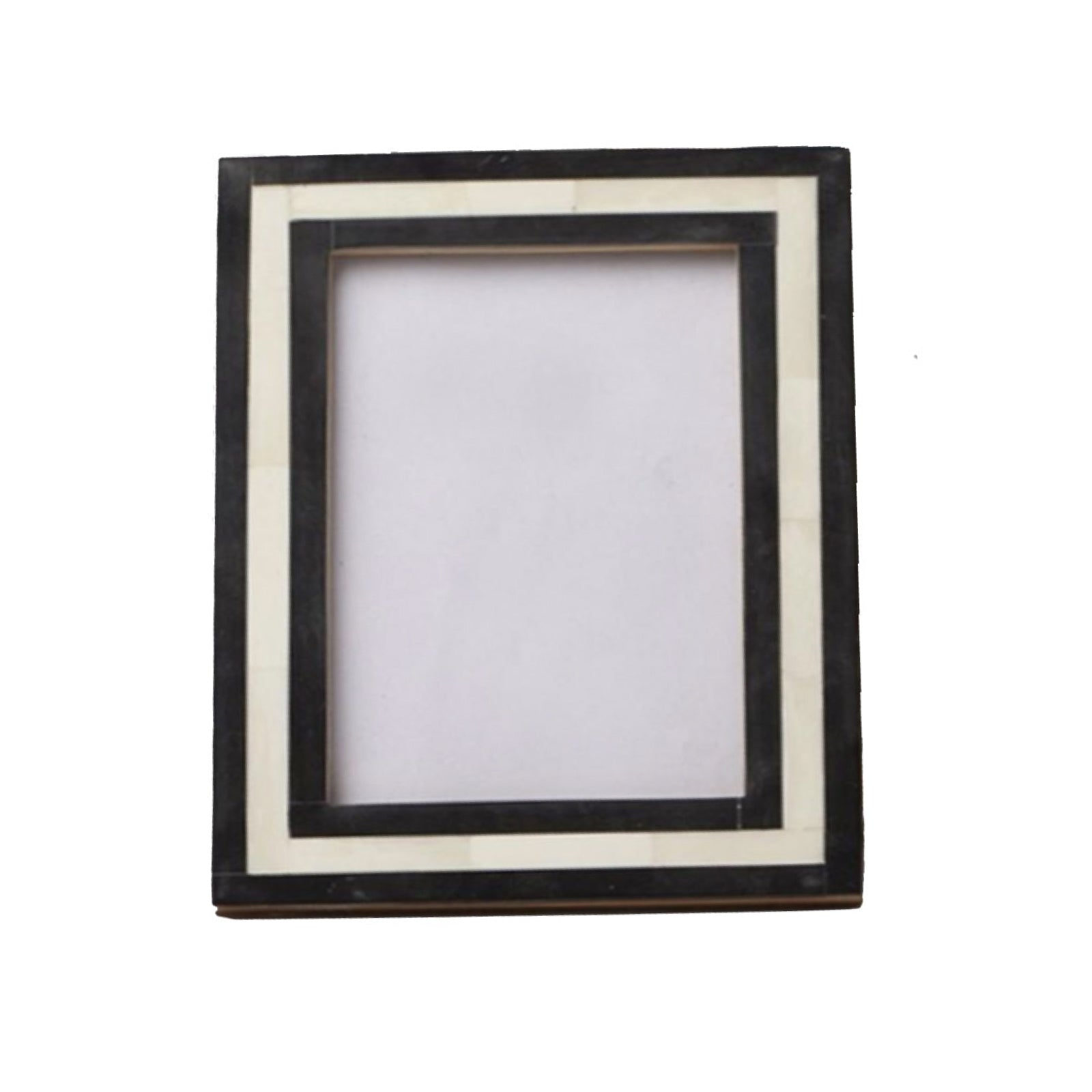 Black Striped Picture Frame